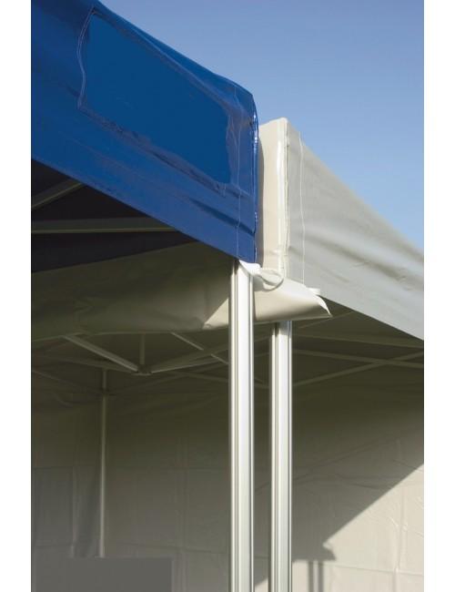 Gouttière PVC pour jonction de tente