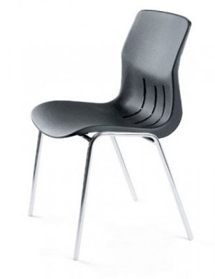 Chaise coque confortable et design Alicia