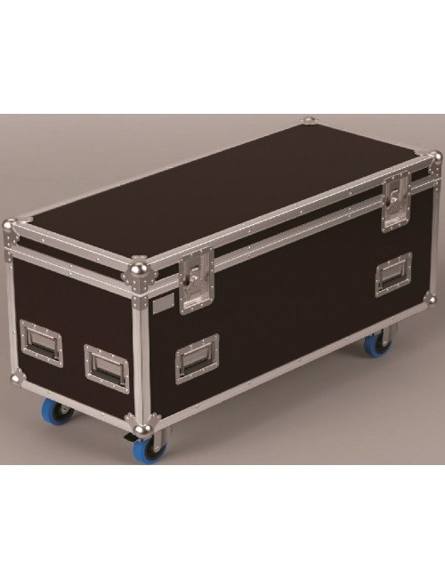 Malle pour stockage et transport de matériel de spectacle
