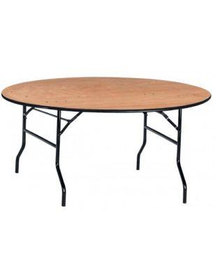 Table ronde pliante et légère Banquet