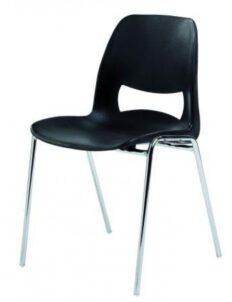 Chaise monobloc Carina en résine