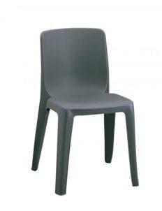 Chaise monobloc résine Lucianna empilable
