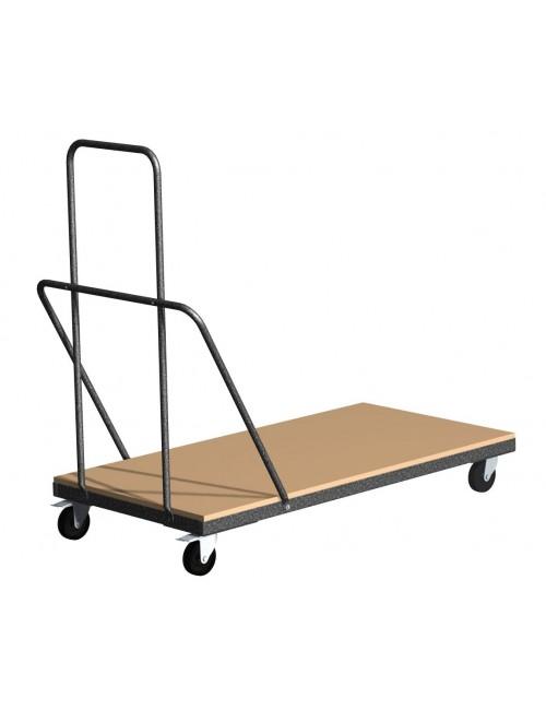 Chariot pour transport et stockage de tables pliantes