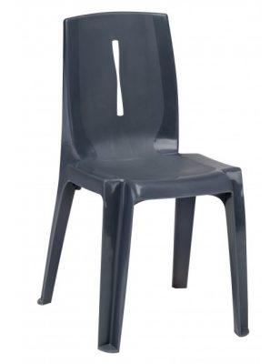 Chaise coque monobloc en polypropylène Victoria