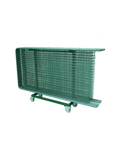 Chariot de stockage et de transport pour grilles d'expositions