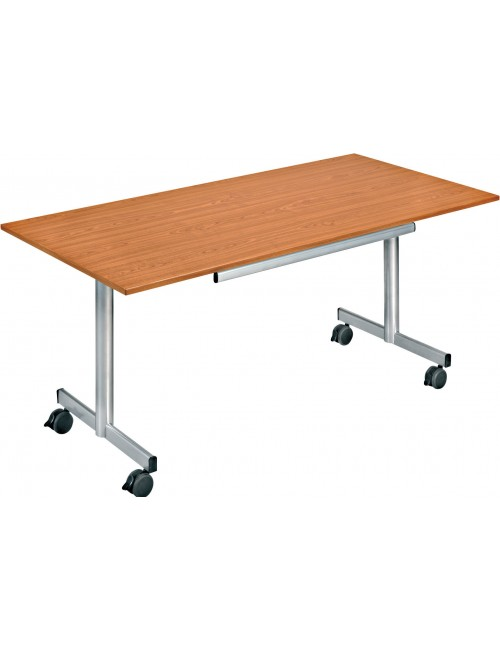 Table à plateaux basculant facile de stockage
