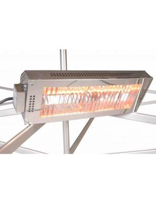 Chauffage à chaleur instantanée pour tente pliante