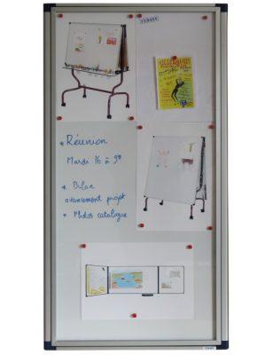 Vitrine d'affichage extraplate sécurisée et étanche
