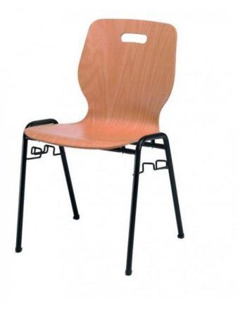 Chaise coque en hêtre Erica