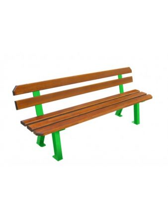 Banc Seattle 4 pieds design en pin du nord