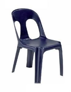 Chaise coque monobloc en polypropylène Anna