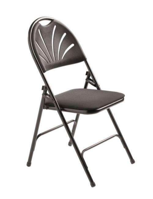 Chaises pliantes Sonia noir