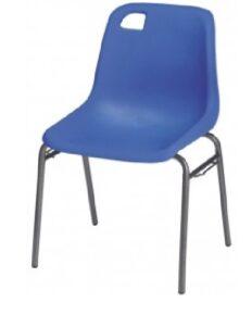 Chaise coque Marina Bleu légère