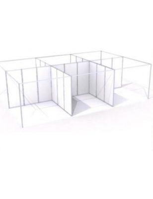 Cloison pour stands d'exposition pour salons