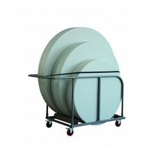 Chariot pour table ronde Roma en polyéthylène