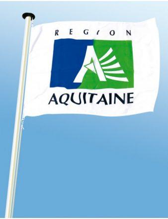 Pavillons des régions 100 % polyester, région Aquitaine