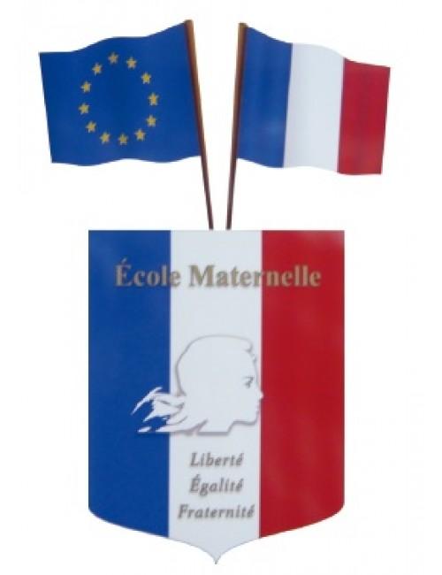 Kit spécial pavoisement école maternelle N°4