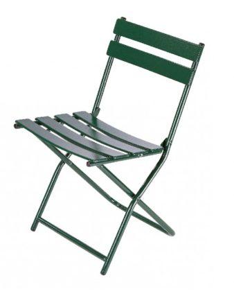 Chaise pliante métallique Flora