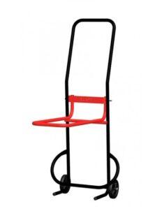 Diable pour transport de chaise empilable