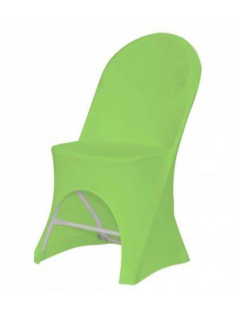 Housse pour chaise pliante verte