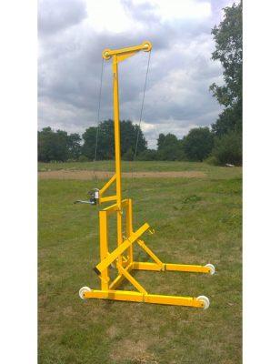 Lève-tente jaune