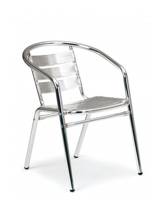 Fauteuil en aluminium très confortable