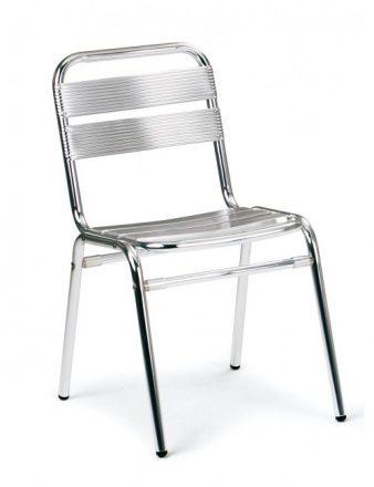 Chaise aluminium très légère et empilable