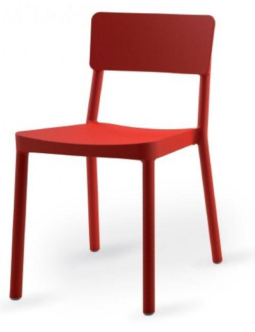 Chaise monobloc Linda design
