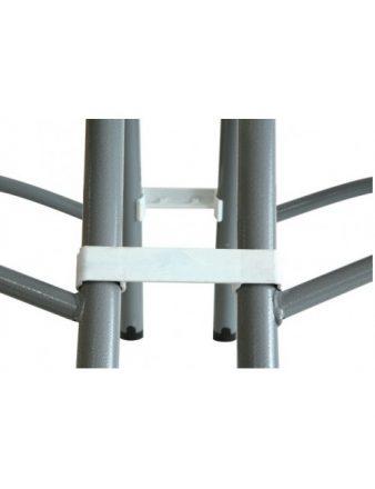 Attache pour chaise non pliante en polypropylène