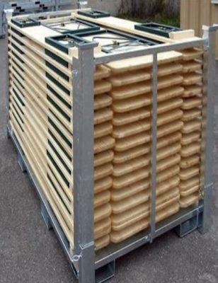 Racks pour transport et stockage de table et banc de brasserie