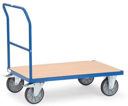 Chariot de poussée multifonction de haute qualité bleu
