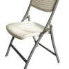 Chaise pliante neto blanche