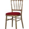 Chaise de réception Napoléon or