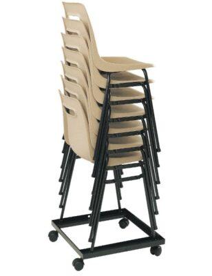 Chariot pour manutention et stockage de chaises