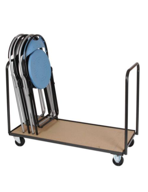 Chariot chaises FLORA avec 2 chaises pliantes