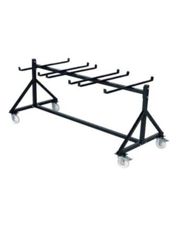 Chariot simple étage pour chaises pliantes