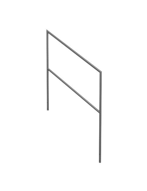 Rampe pour escalier modulable praticable Quick