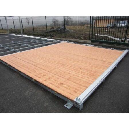 Plancher avec structures métalliques pour tentes de réceptions