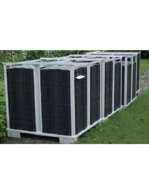 Rack pour stockage et transport de dalle PVC