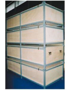 Rack de stockage pour cloisons d'expositions