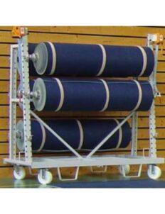 Stockeur pour le stockage de rouleau PVC
