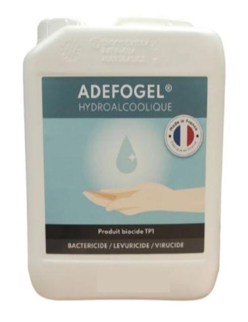 Bidon 5L de gel hydroalcoolique