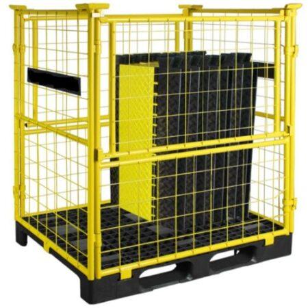 Palette pour transport et stockage passage de cable