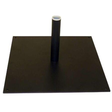 Platine carrée pour voile plume