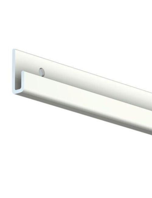 Rail pour cimaise blanc