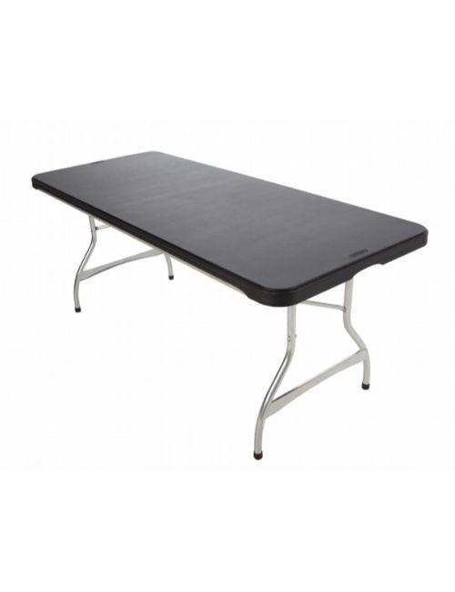 Table Roma XL Anthracite en polyéthylène